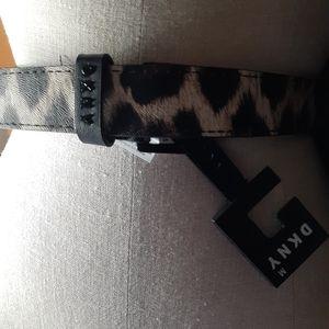 🧡 DKNY 2/$20 Leopard Desinger Belt